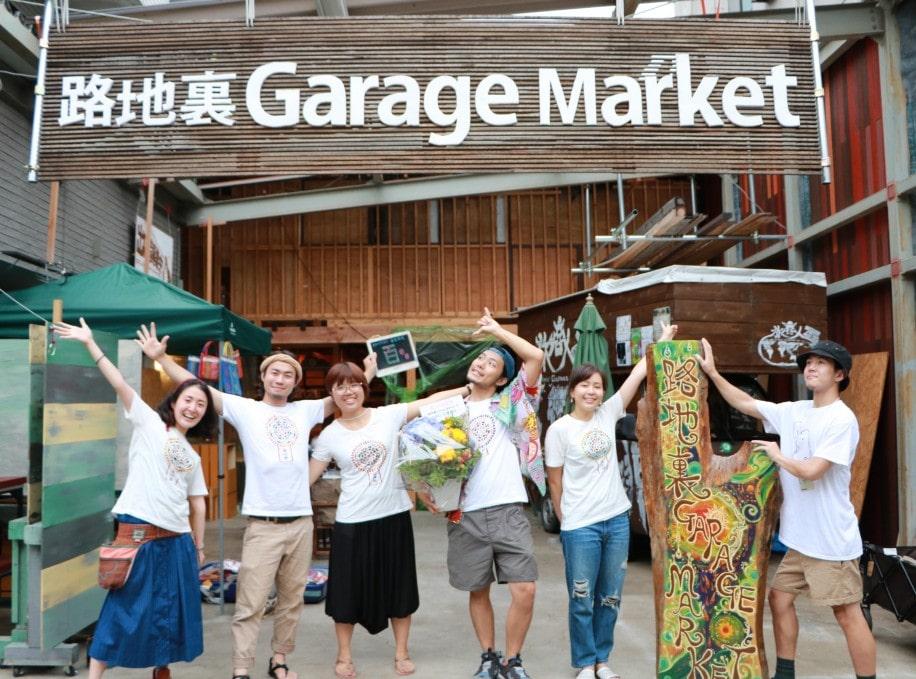 路地裏ガレージマーケットの運営スタッフ
