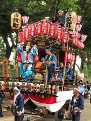 大宮の武蔵一宮氷川神社で「例祭」 各町内の山車・みこし集う