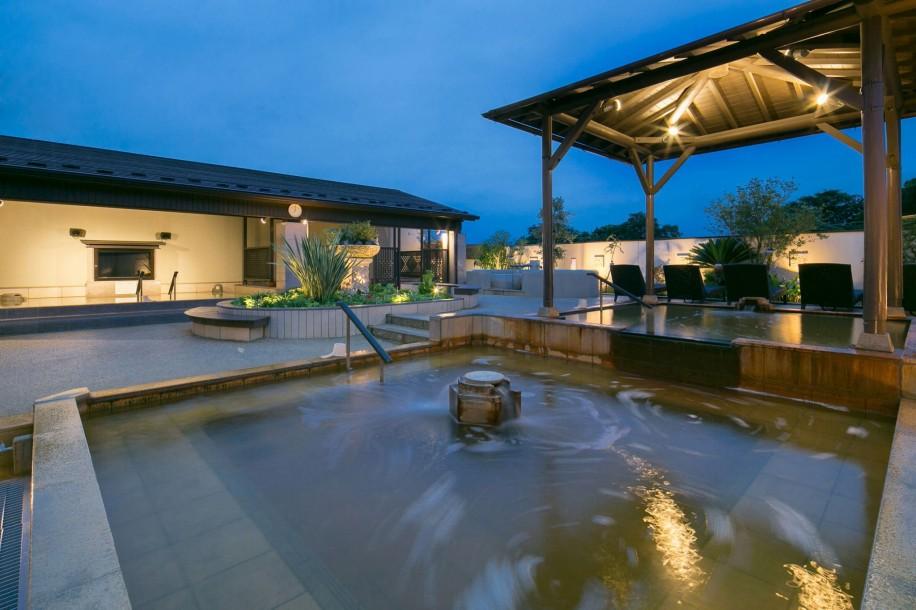 「天然温泉花咲の湯 HANASAKISPA」の内観