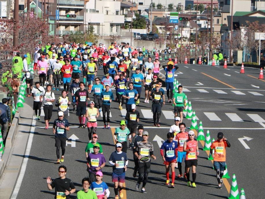 「第3回さいたま国際マラソン」の様子