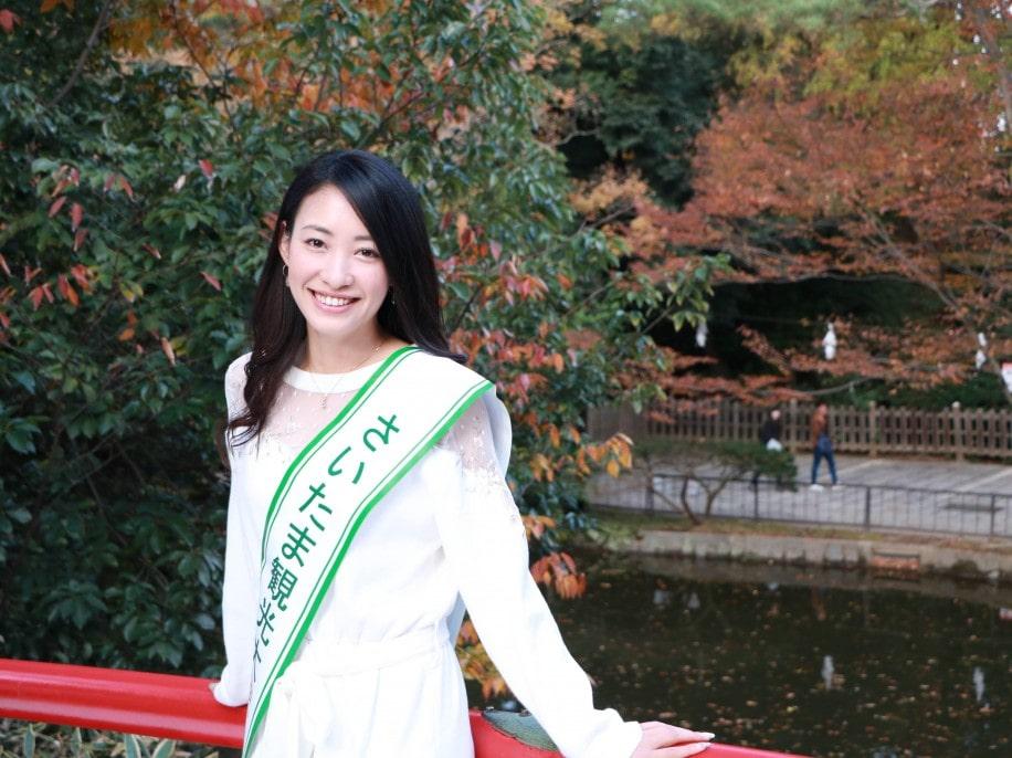 さいたま観光大使に就任した村田綾さん