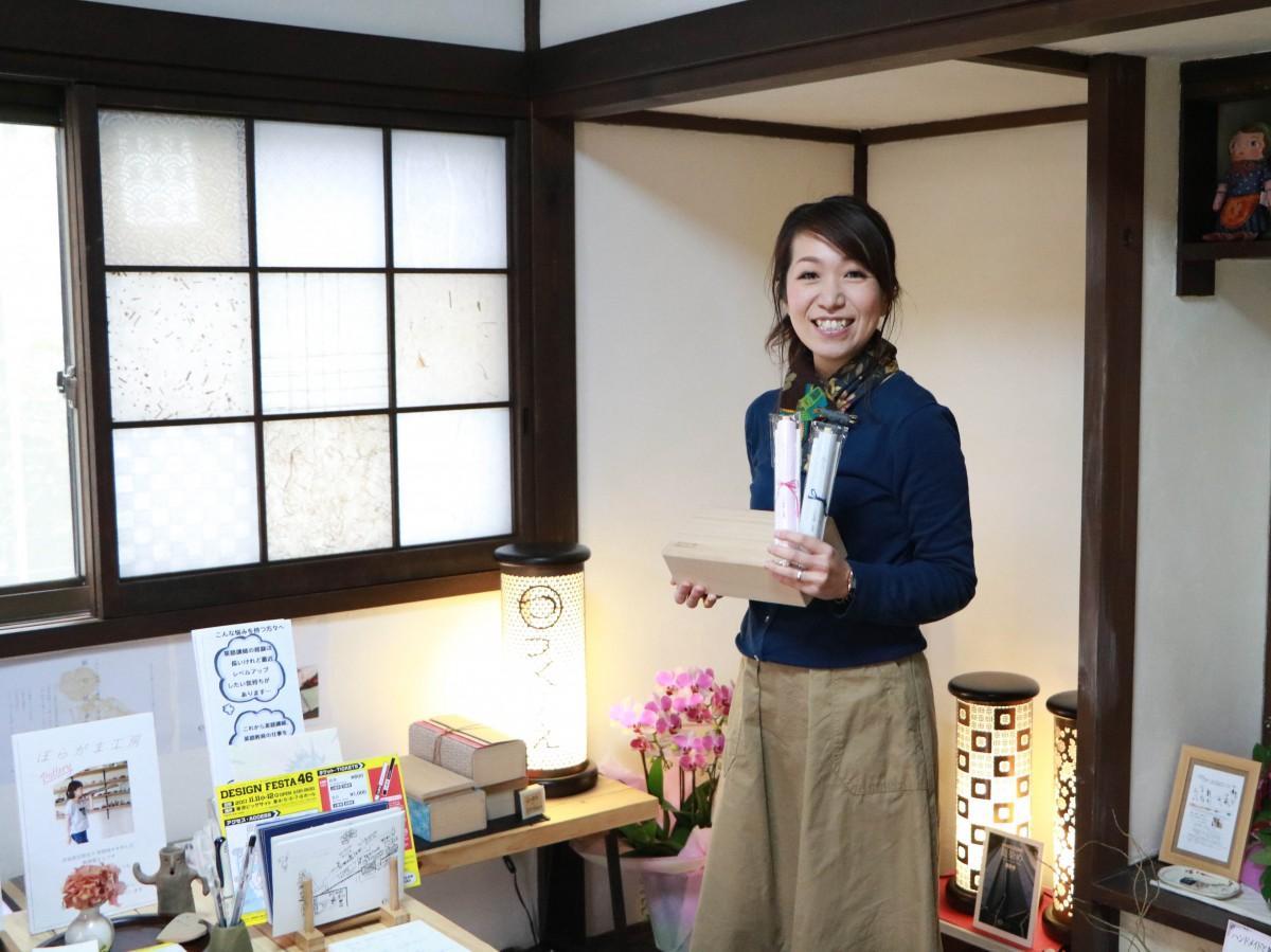 和雑貨店「つくりえ」店長の塚田さん