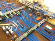 大宮駅を電車おもちゃで再現 新幹線・埼京線など複雑な立体構造や大栄橋も