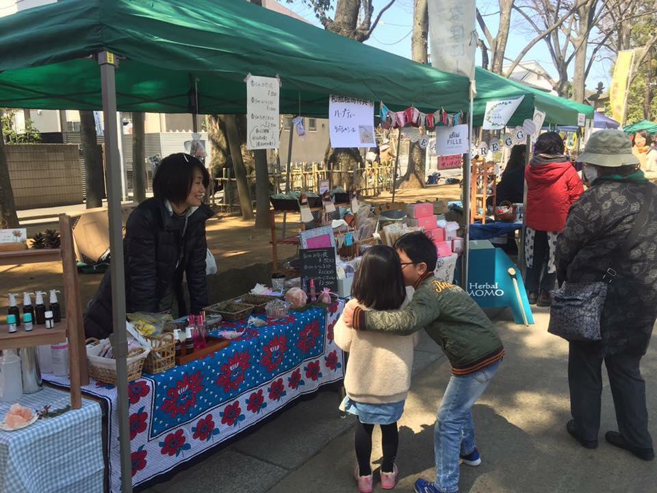 大宮氷川神社および参道でのイベント「さんきゅう参道」、以前開催時の様子