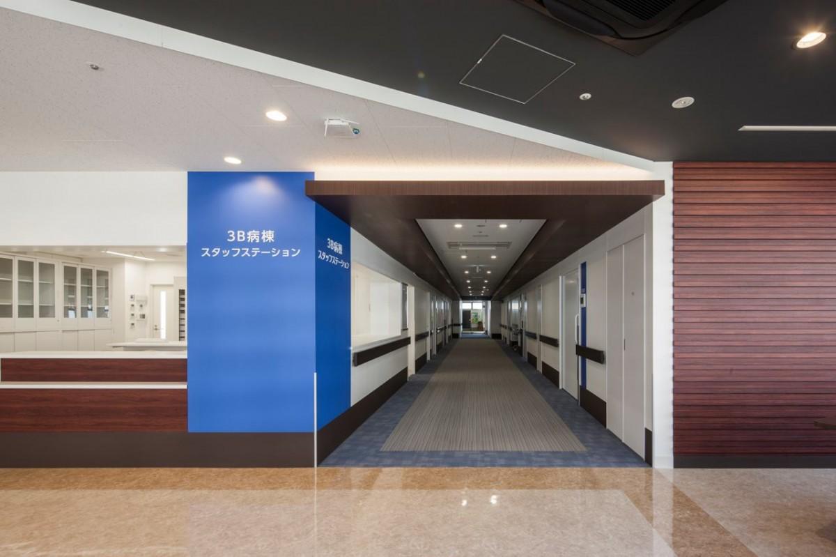 三愛病院の新棟の内観