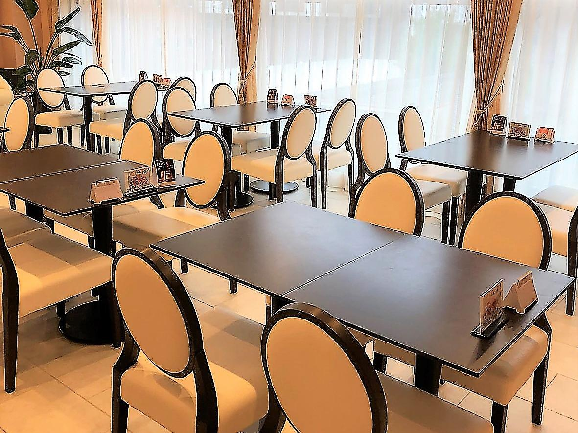 会場のベジカフェ