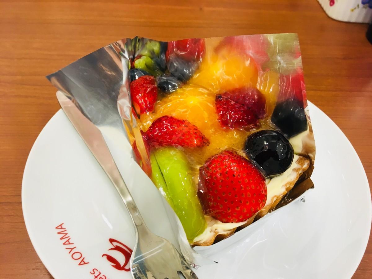 新鮮なフルーツを使ったフルーツタルト