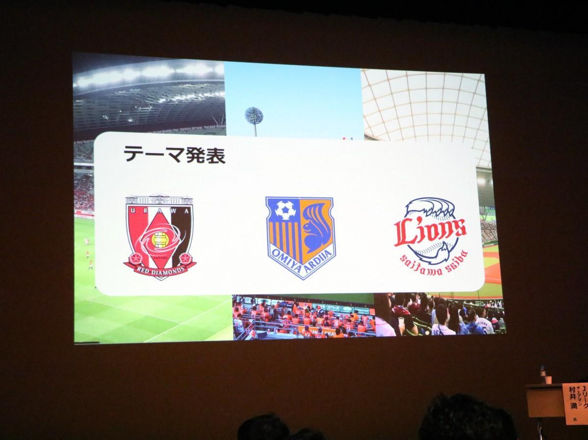 各クラブ・球団からテーマが発表された
