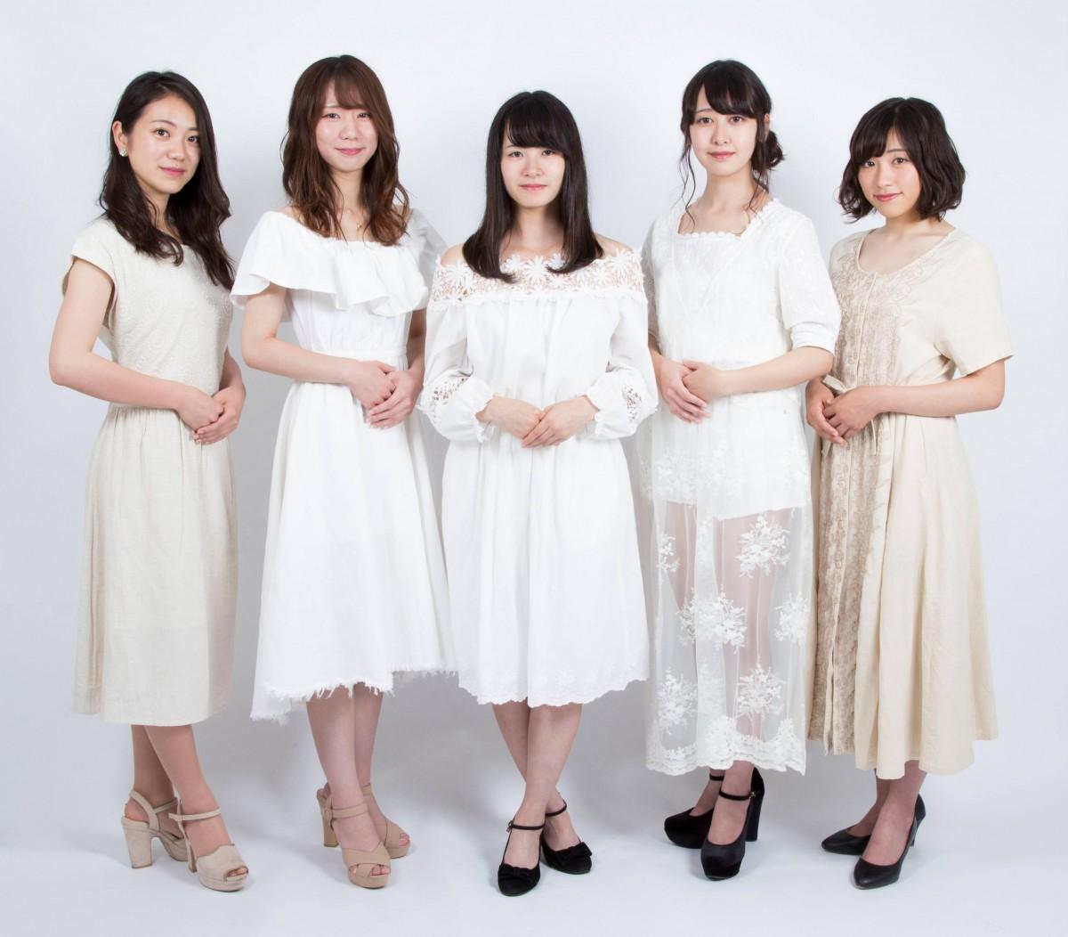 ミス埼大コンテスト2018 ファイナリストの5人