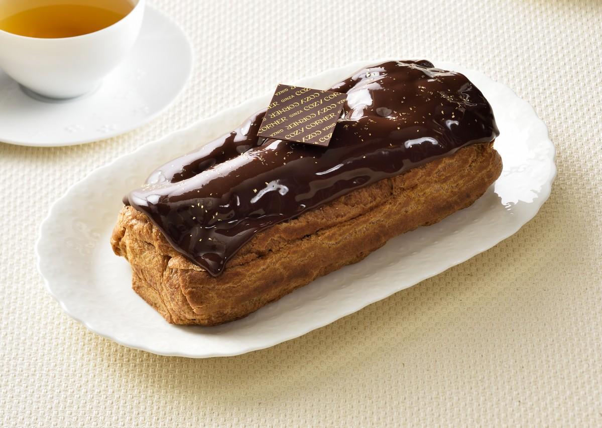 大宮限定商品「チョコレートシュー」(提供:銀座コージーコーナー)