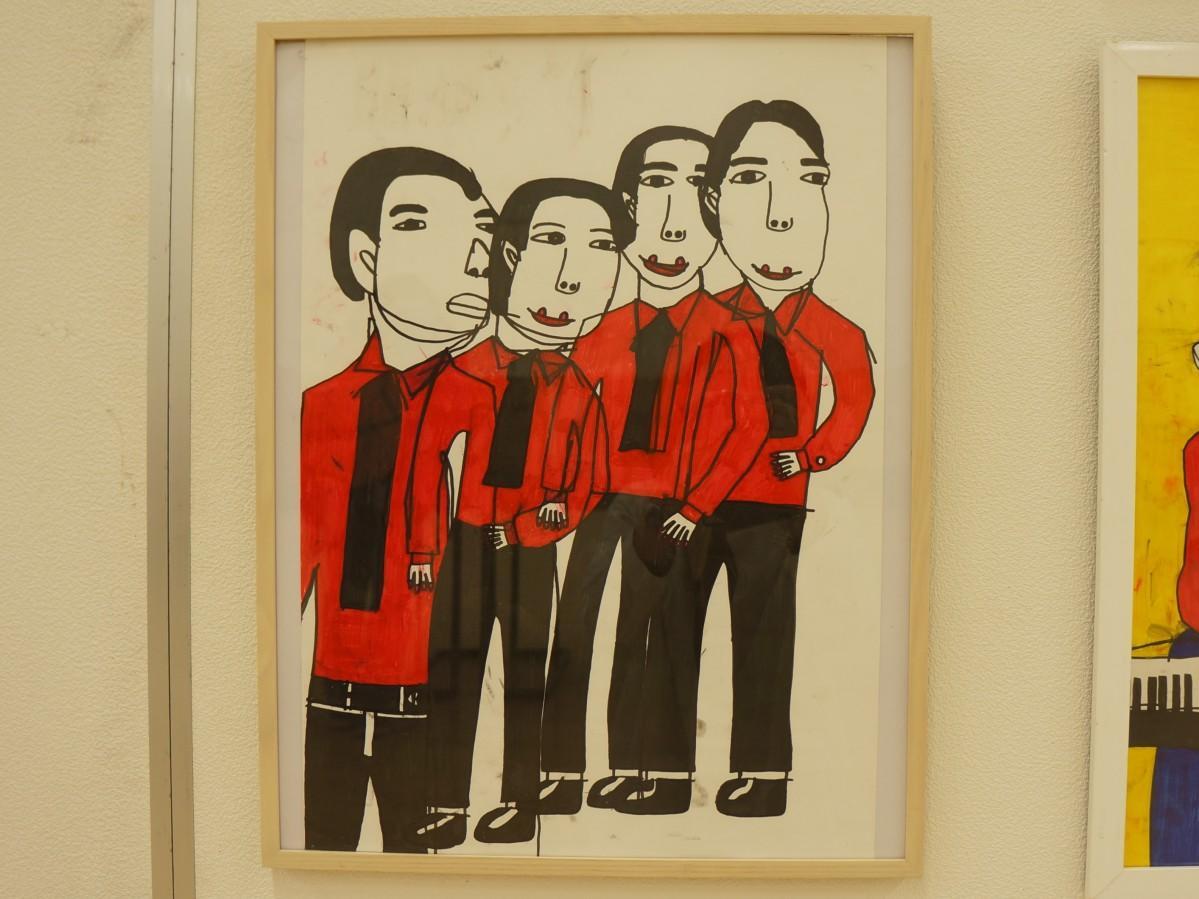 吉川健司さんの作品「ソウルシンガーたち」