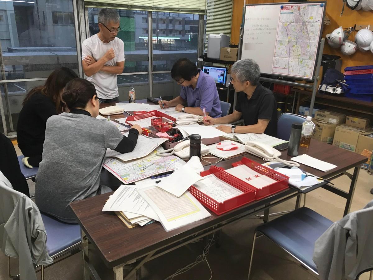 さいたま市中央区の災害対策本部