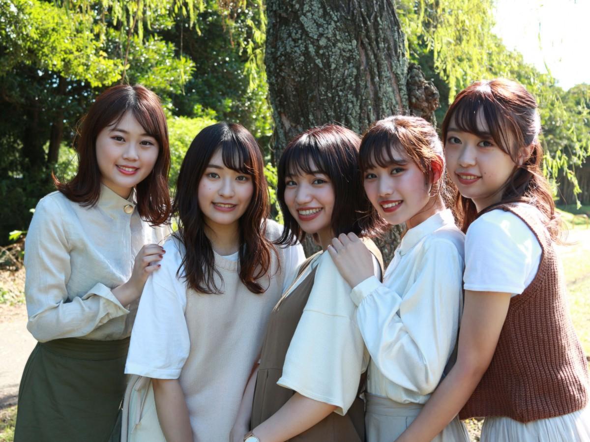 ミス埼大コンテスト2019ファイナリストの5人