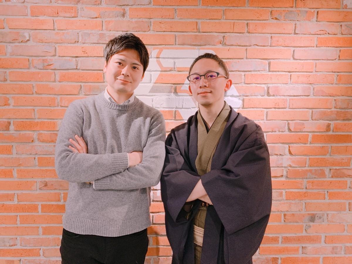 登壇者の周東孝一さんと坂下慧志郎さん