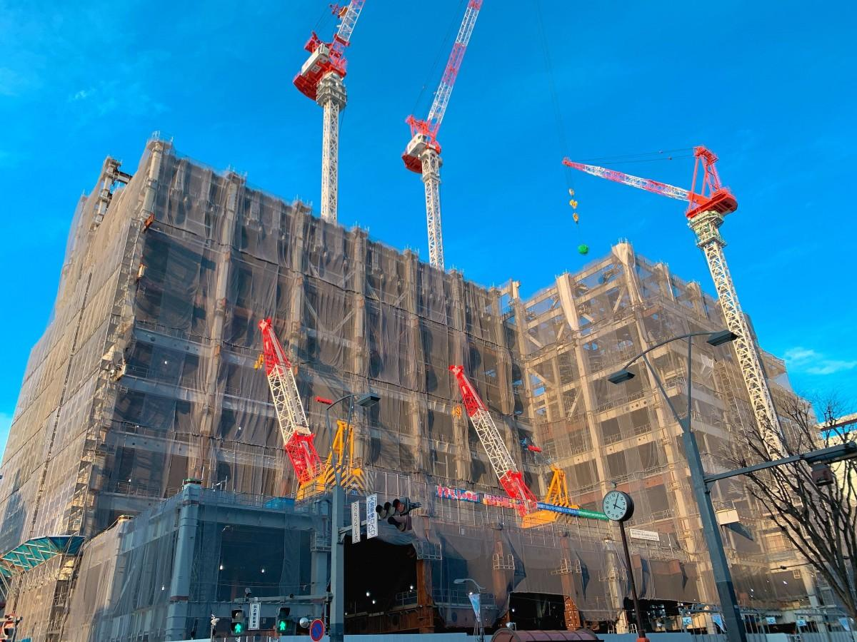 現在建設中の大宮駅東口大門町2丁目中地区再開発ビル