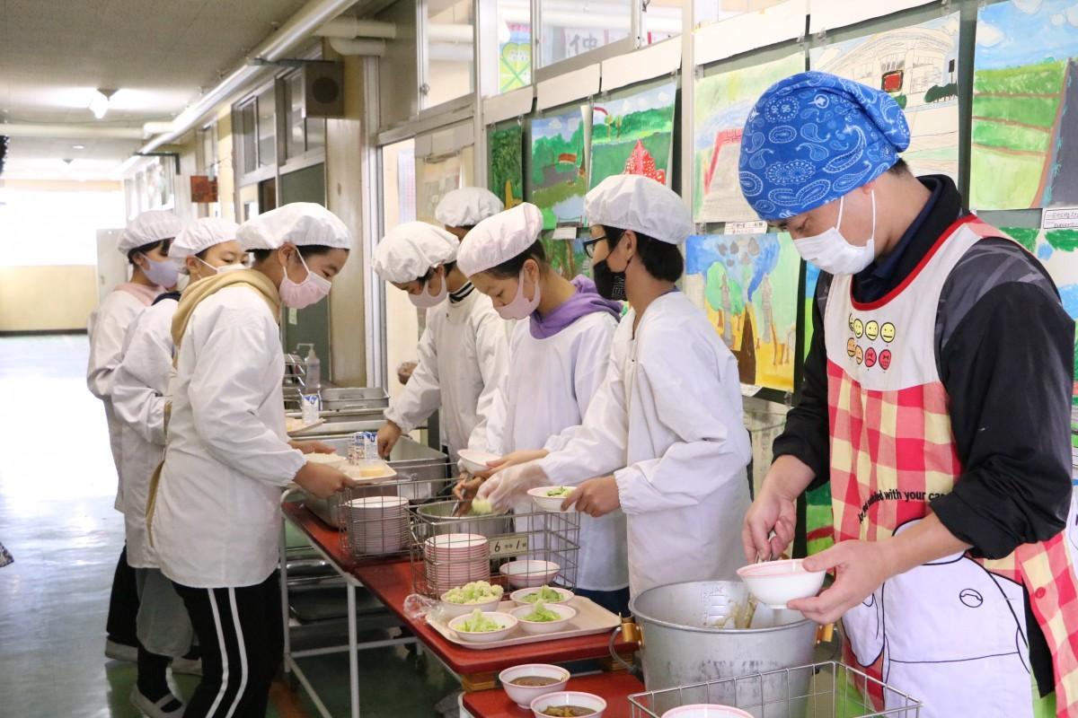 さいたま市学校給食統一献立~10万人でいただきます!給食