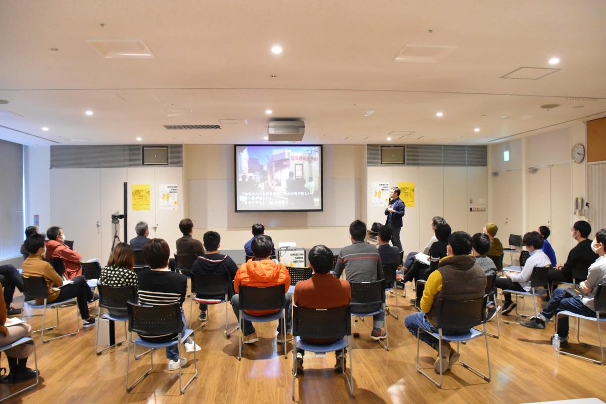 2019年に開催された「第1回リノベーションスクール@岩槻」の様子