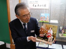 岩槻・人形の東玉、今年の「変わりびな」発表 1位は「新元号 令和 即位雛」