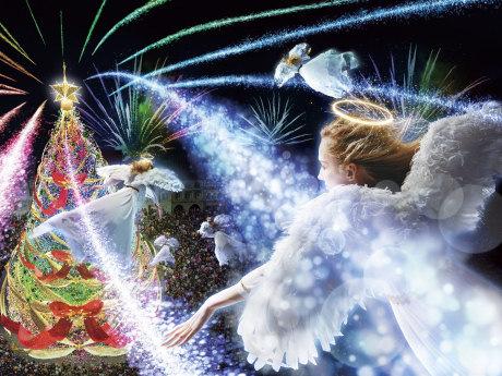 クリスマス・ライブショー「天使のくれた奇跡III ~The Voice of an Angel~」のイメージ(画像提供=ユニバーサル・スタジオ・ジャパン)