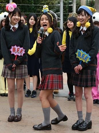 USJが学生向けキャンペーン開始 岡田結実さんが開幕宣言