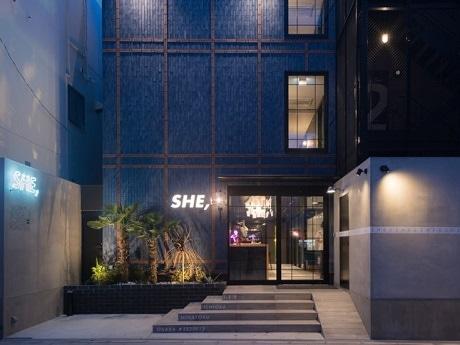 次世代型ソーシャルホテル「HOTEL SHE, OSAKA」