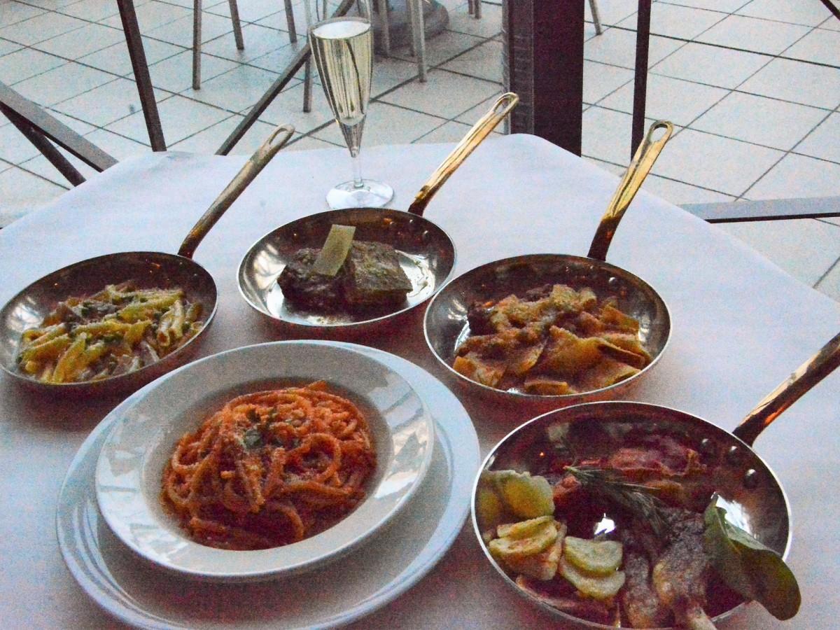 春は中部イタリアの郷土料理をそろえる