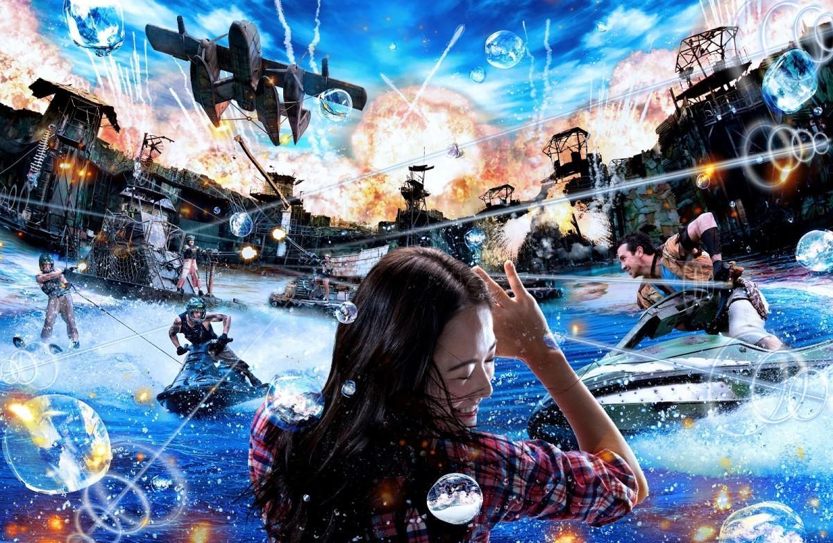 内容を大幅強化する「ウォーターワールド」(画像提供:ユニバーサル・スタジオ・ジャパン)