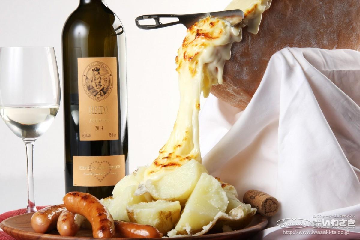 落ちかけのラクレットチーズ