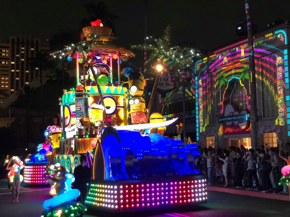 「ユニバーサル・スペクタクル・ナイトパレード ~ベスト・オブ・ハリウッド~」