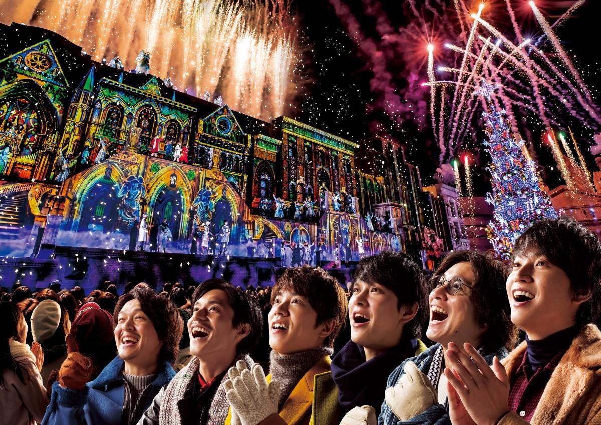クリスマス・アンバサダーに就任した関ジャニ∞(画像提供:ユニバーサル・スタジオ・ジャパン)