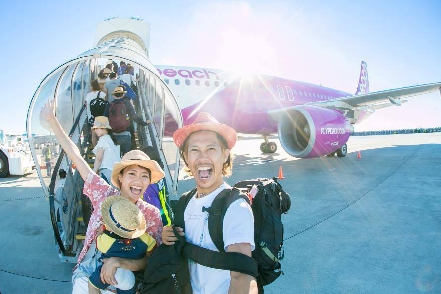 「OsakaもKansaiも負けへんで!」イメージ写真(画像提供:Peach Aviation)