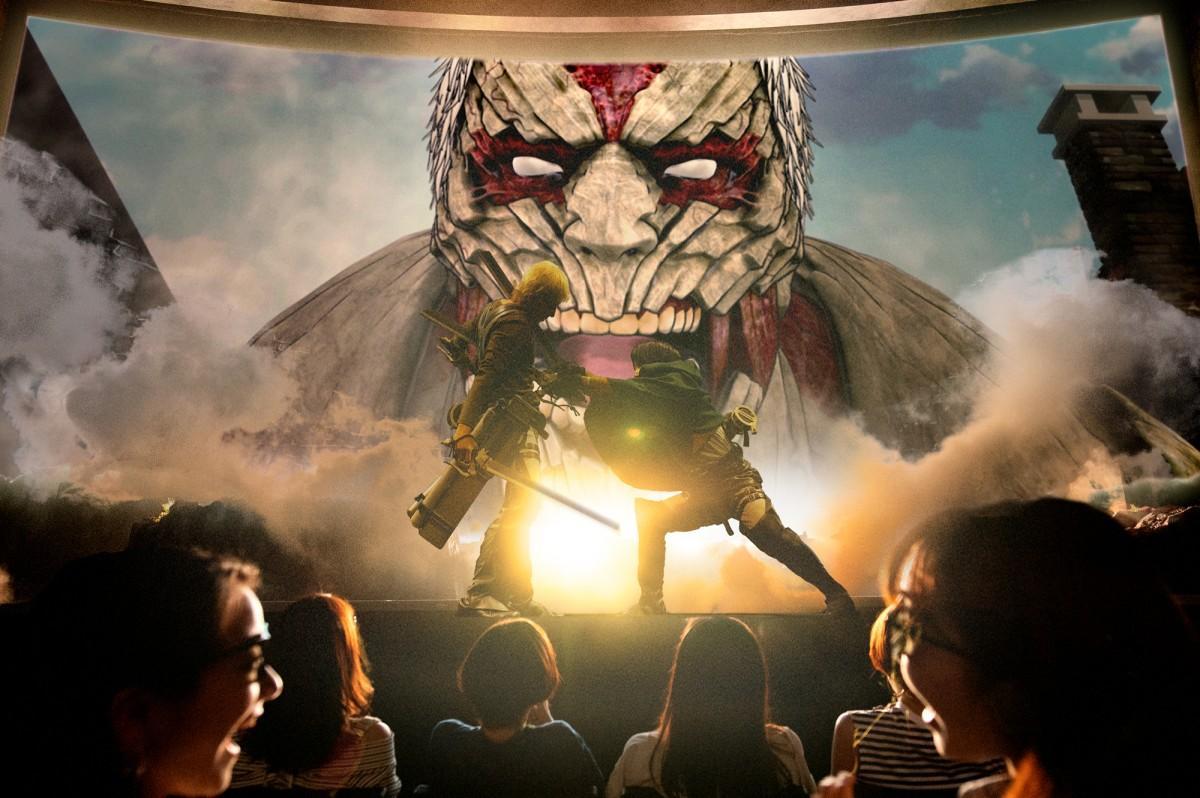 リアルキャストが登場する「進撃の巨人・ザ・リアル」(画像提供:ユニバーサル・スタジオ・ジャパン)