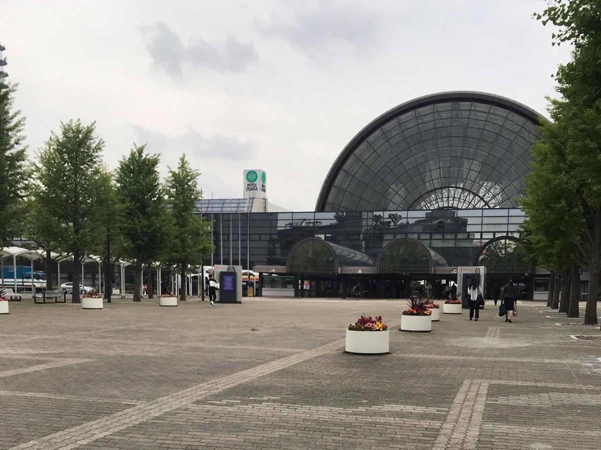 「G20大阪サミット」が開かれた「インテックス大阪」