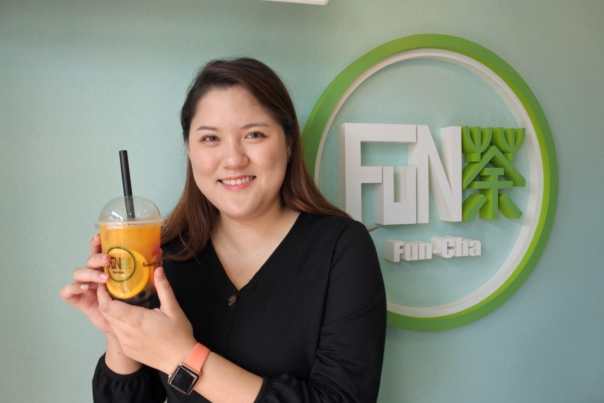 台湾タピオカ専門店FUN茶