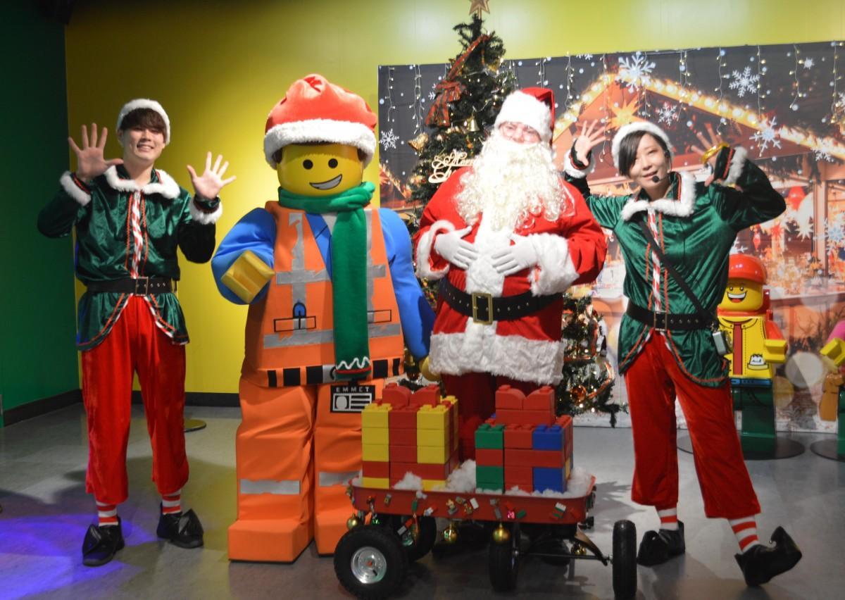 レゴのクリスマスパーティー