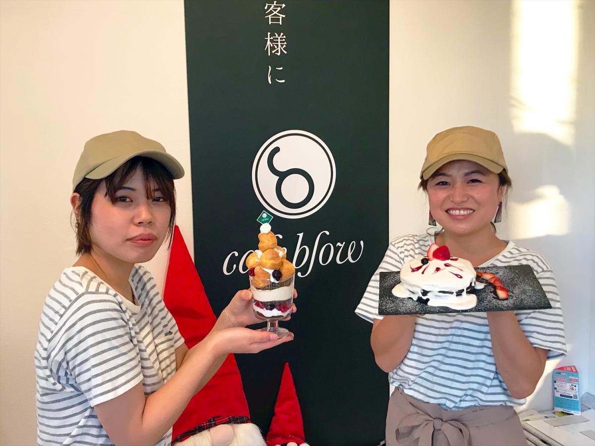和泉市にあるパンケーキ店「カフェブロウ」