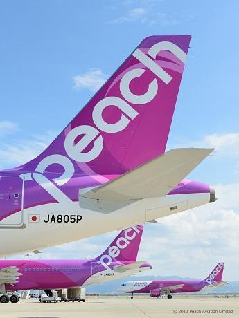 6月19日に国内線全路線での運航を再開する「Peach Aviation(ピーチ アビエーション)」
