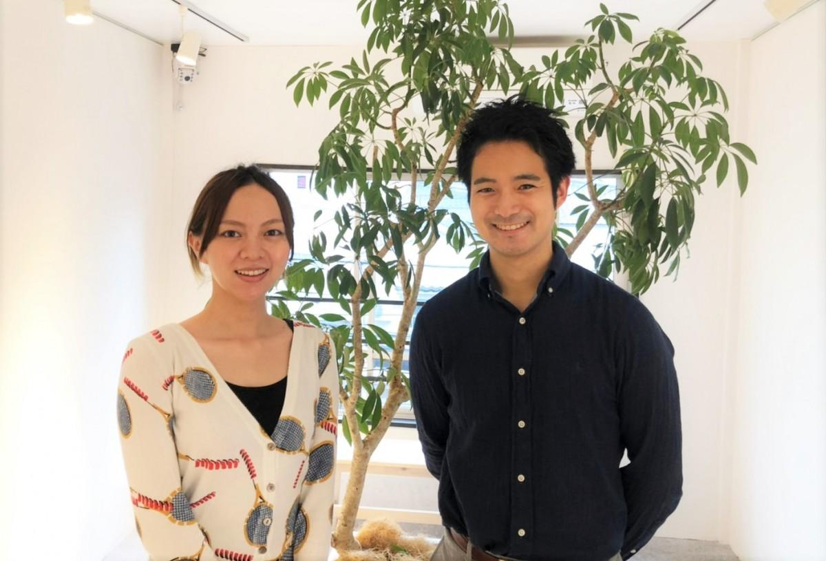 企画を立案した吉見紫彩さんと牧野圭さん