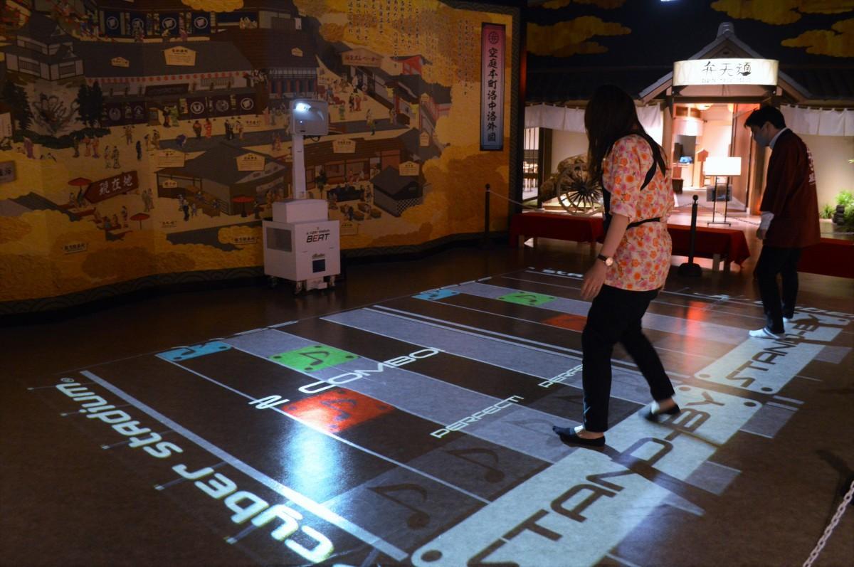 関西初上陸の次世代体感型アトラクションゲーム「サイバースタジアム」