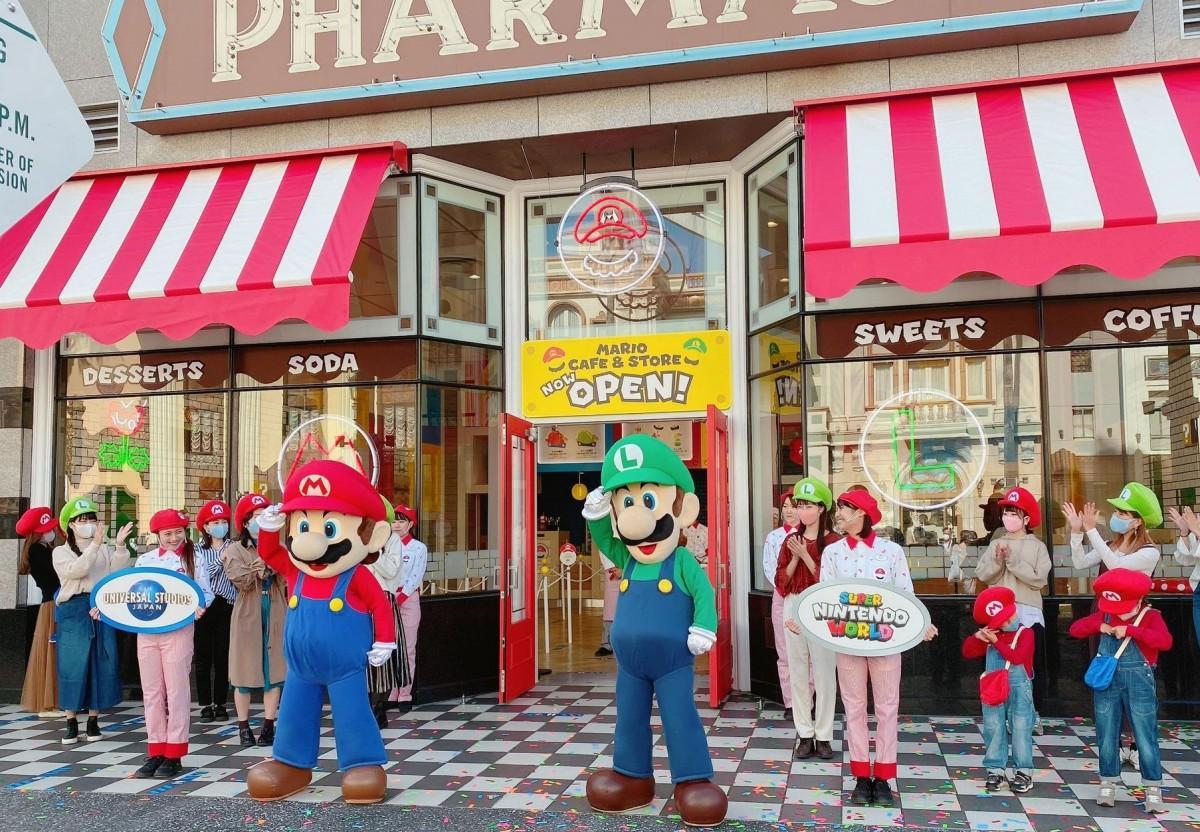 10月16日にオープンする「マリオ・カフェ&ストア」