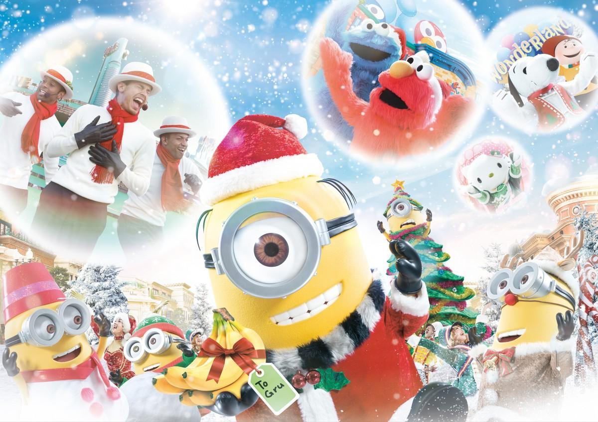 クリスマスイベント2020(画像提供:ユニバーサル・スタジオ・ジャパン)