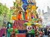 USJの仮装パレードに広瀬姉妹 カボチャ風のおそろコーデで