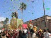 USJでクリスマス仕様の「ミニオン」パレード パレード初登場の怪盗グルーも