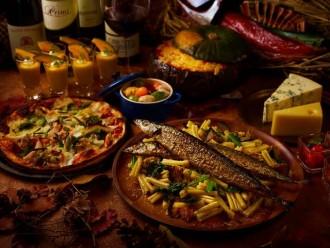 USJ公式ホテル・リーベルホテルが「秋の味覚」ビュッフェ 「収穫祭」テーマに