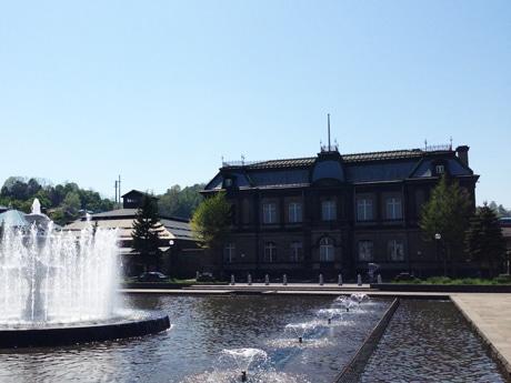 歴史的建造物が多く残る小樽の街並み