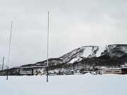 小樽からまつ運動公園で歩くスキー、健康・体力づくり目的に一般開放