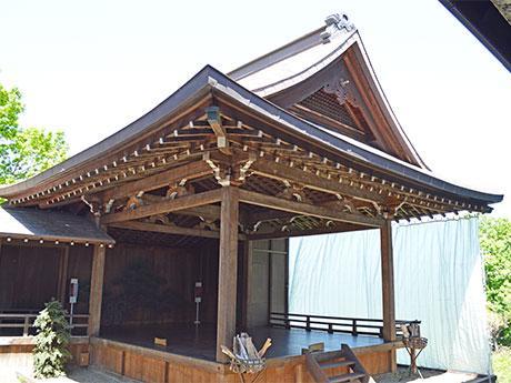 1926(大正15)年に落成された小樽市能楽堂