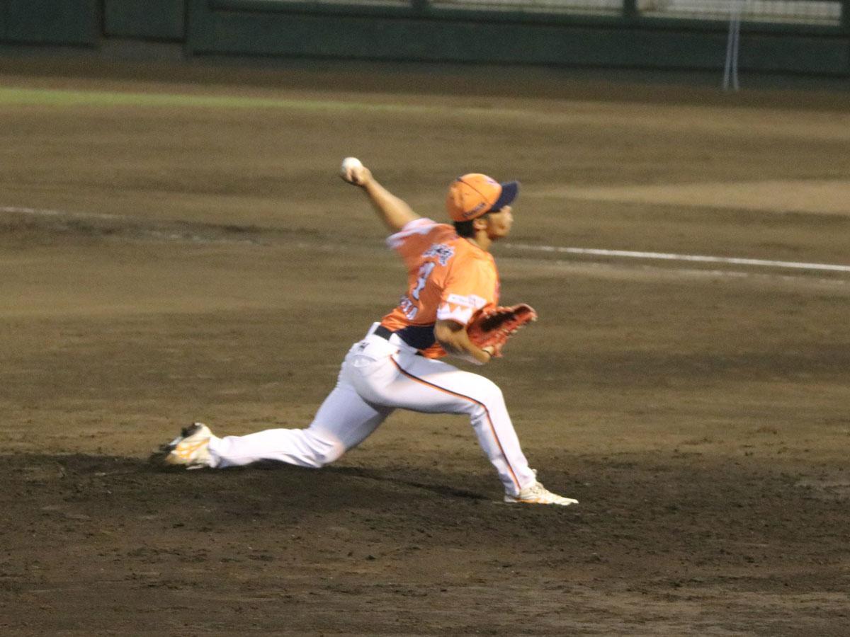 現役時代の三木田龍元投手