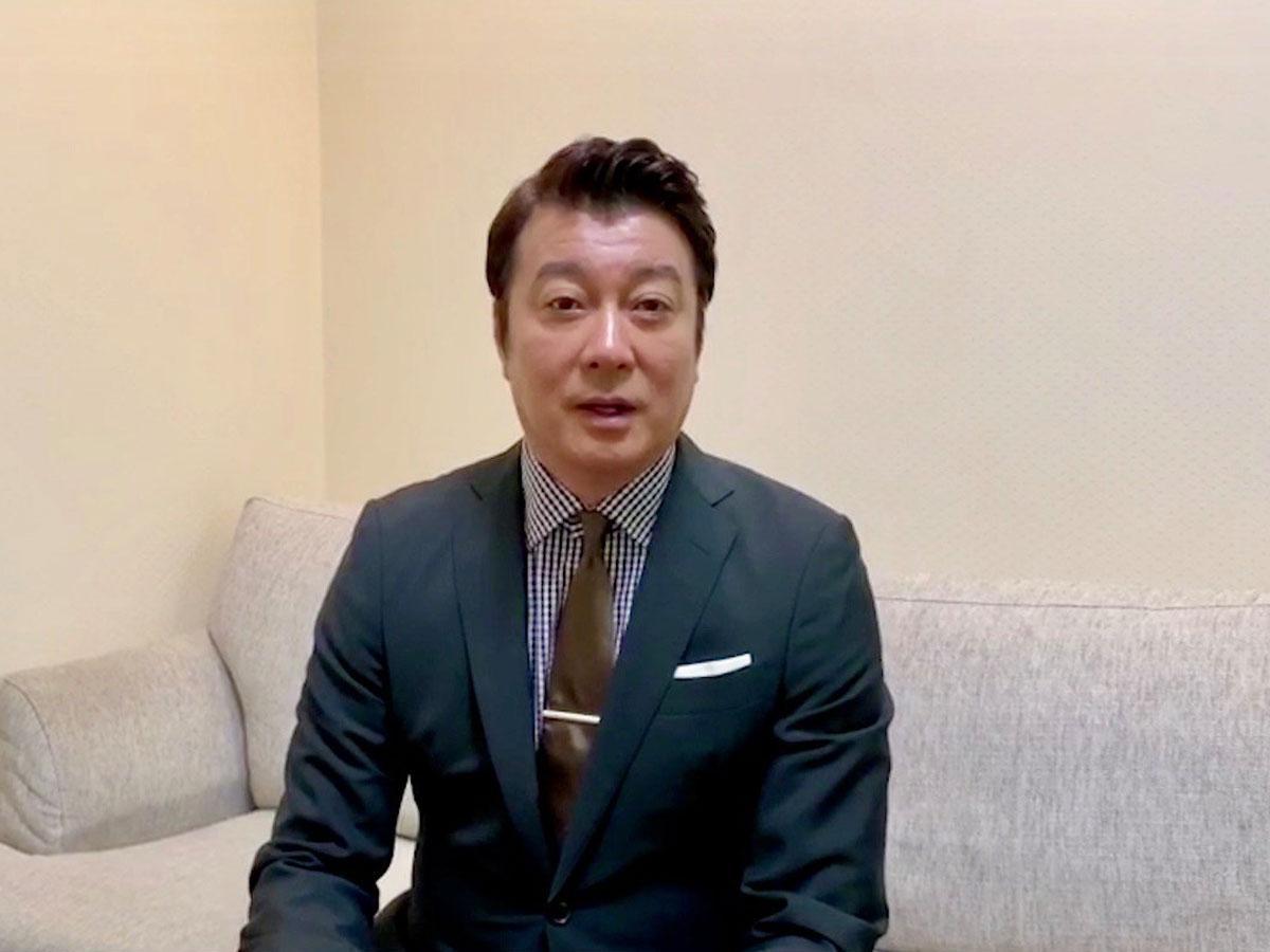 動画に出演する加藤浩次さん