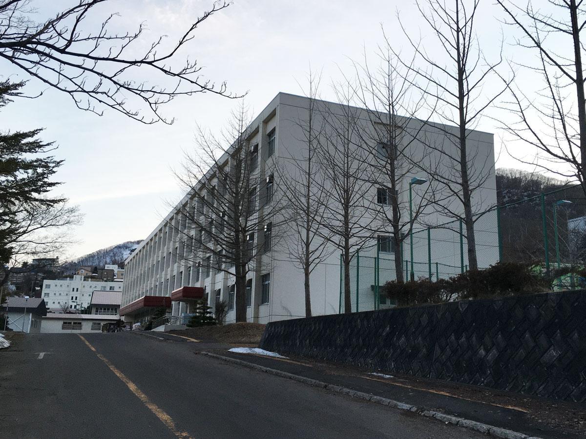 移転先の旧・小樽商業高校校舎